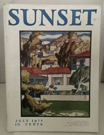 Image for Sunset Magazine July 1935