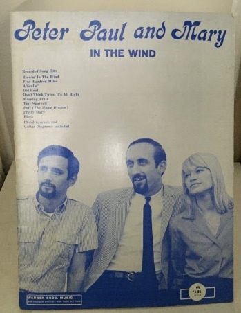 Image for Peter Paul And Mary In the Wind