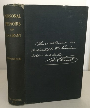 Image for Personal Memoirs Of U.s. Grant Two Volumes in One