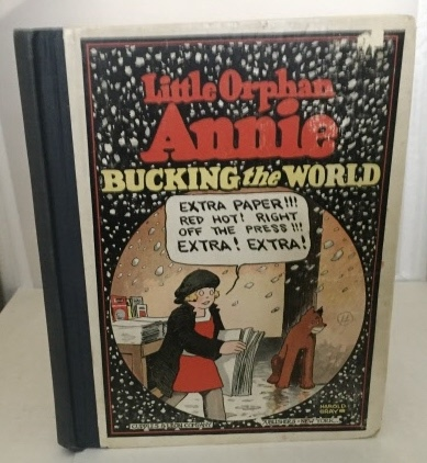 Image for Little Orphan Annie Bucking The World